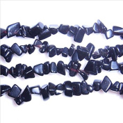 "TheTasteJewelry Natural Blue Sandstone Chips 5-8mm 18"" Jewellery Making Necklace Bracelet"