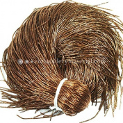0.7MM(DM) (50 Yard/Packet) Bullion/Nakshi Metallic French Wire in Dark Gold Colour