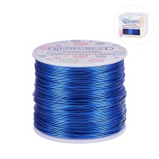 BENECREAT 12 17 18 Guage 30m Aluminium Wire Anodized Jewellery Craft Making Beading Floral Coloured Aluminium Craft Wire