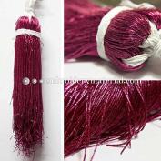 1MM(DM) (50 Yard/Packet) Bullion/Nakshi Metallic French Wire in Festival Fuchsia Colour