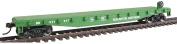 Walthers Trainline HO Scale 15m Wood Deck Flatcar Burlington Northern/BN