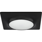 Progress Lighting P8027-31/30K9-AC1-L10 Square Flush Mount/Recessed LED Fixture, 18cm