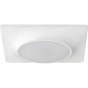 Progress Lighting P8027-28/30K9-AC1-L10 Square Flush Mount/Recessed LED Fixture, 18cm