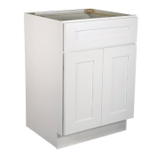 Design House 561340 Brookings 46cm Base Cabinet, White Shaker