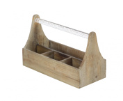 GwG Outlet Wooden Acrylic Wine Holder 30cm W, 18cm H 84208
