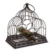 Melrose Tabletop Birdcage Wine Rack
