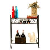 Homestyle Collection 7 Bottle Floor Wine Rack