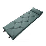 9 Points Style Thicken Automatic AirMattresses Moistureproof Mat Green