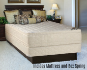 Continental Sleep Foam Encased Fully Assembled Eurotop 36cm Orthopaedic Mattress and Box Spring, Twin XL
