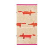 Scion Mr Fox Hand Towels and Tangerine, Cerise