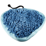 H2O T1 Heavy Duty Deluxe Coral Microfiber Pads Steamboy Mop