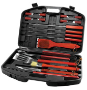 Grill Tool Kit, Stainless Steel Grill Tools With Case