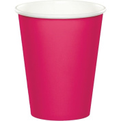 Party Creations Hot/Cold Cups, 270ml, Hot Magenta, 8 Ct