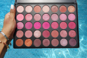 Valentine Palette in Scarlett | 100% VEGAN & CRUELTY FREE Eyeshadow Palette | 35 Beautiful Versatile Makeup | Warm Makeup Palette | Metallic Eyeshadow | Matte Shades Perfect for Gift Ideas