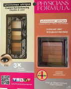 Physician Formula Dual Package Shimmer Strips Custom Eye Enhancing Shadow and Liner , Custom Bronzer and Blush