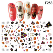 Nail Art Decals Halloween Manicure Transfer Stickers
