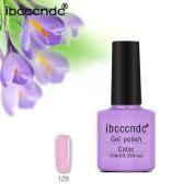 Women Soak-Off Gel Polish, Lotus.flower 10ML Long Lasting Gel Nail Polish Nail Art Nail Gel Polish-Purple Series