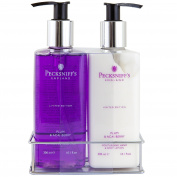 Pecksniffs Plum & Acai Berry Moisturising Hand Wash & Body Lotion 300ml Each | Limited Edition Set