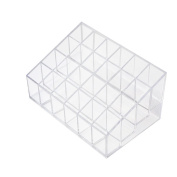 Wefond 24 Stand Clear Makeup Cosmetic Organiser Lipstick Display Case Brush Holder