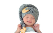 Fashion Newborn Boy Girl Baby Costume Knitted Photography Props Cute Hat