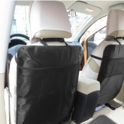 YRD TECH Car Auto Seat Back Protector Cover For Children Kick Mat Storage Bag