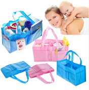 Portable Baby Nappy Nappy Changing Bag Inserts Handbag Organiser Pouch Storage Inner - Blue