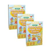 Healthy Times Organic Hugga Bear Cookies 190ml [3 Packs]