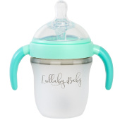 Lullaby Baby Anti-Colic Natural Feeding Bottle with Handles-150mls-Slow Flow for Newborn to 3 Months