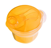 "Dirance Portable 3 Section Baby Milk Powder Dispenser Container, Height 8.5cm/3.3"" Diameter 9.5cm/3.7"""