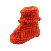 KuoShun Baby Knitting Lace Crochet Shoes Buckle Handcraft Shoes (10cm