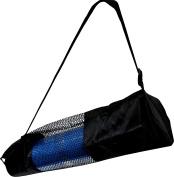 BodyRip Yoga Mat Carrier Bag Nylon Mesh Adjustable Strap Washable Exercise