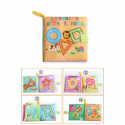 N.C Products Soft Baby Book Fabric, Learning with Shapes, for Babies Educational Toy for Baby.