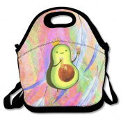 Reusable Picnic Lunch Bags Lunch Tote Cute Avocado Lunch Box For Men Women Adults Kids Toddler Nurses