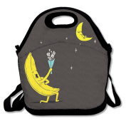 Reusable Picnic Lunch Bags Lunch Tote Banana Courtship Lunch Box For Men Women Adults Kids Toddler Nurses