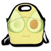 Reusable Picnic Lunch Bags Lunch Tote Avocado Lunch Box For Men Women Adults Kids Toddler Nurses