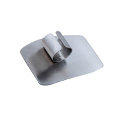 Kitchen Cooking Tools Stainless Steel Finger Hand Protector Guard Practical