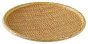 Yanco WD-509 Round Wooden Tray, 23cm Diameter, Melamine, Pack of 24