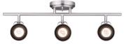 CANARM IT622A03BN10 Ltd Polo 3 Light Track Rail Adjustable Heads, Brushed Nickel