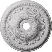 Ekena Millwork CM27TO 70cm OD x 9.8cm ID x 6.4cm P Tomango Egg and Dart Ceiling Medallion
