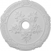 Ekena Millwork CM26AT 70cm OD Attica with Rose Ceiling Medallion