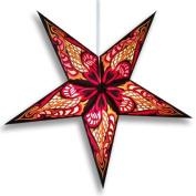 Hydra Red Paper Star Lantern