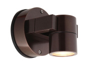 Access Lighting 20351MG-BRZ/CLR KO Wet Location Spotlight, Bronze Finish with Clear Glass