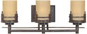 Designers Fountain 82103-WM Mission Ridge 3 Light Bath Bar