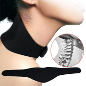 Genmine Tourmaline Magnetic Neck Brace Far Infrared Ray Self Heating Neck Massager Therapy Wrap Support Strap Cervical Vertebra Protection Relief Pain