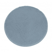 SMYTShop Soft Round Shaggy Bathroom Rug - Non-slip Soft Absorbent Decorative Bath Mat Floor Carpet 40cm