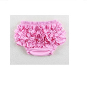 Vellhater Creative Ruffle Pants Bloomers Nappy Cover for Baby Girl S