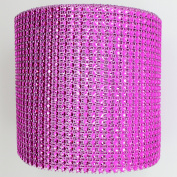 Blinggasm 5 Yards X 12cm Diamond Mesh Wrap Roll Crystal Rhinestone Sparkle Bling Ribbon Choose Your Colour