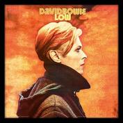 """David Bowie """"Low"""" Album Cover Framed Print, Multi-Colour, 30cm"""
