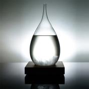 Creative Stylish Desktop Droplet storm Glass Crafts Weather Storm Forecast Predictor Bottle Barometer