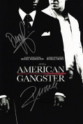 LIMITED EDITION AMERICAN GANGSTER FILM POSTER SIGNED PHOTOGRAPH + CERT PRINTED AUTOGRAPH